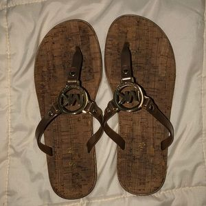 Worn once Michael Kors sandals size-7